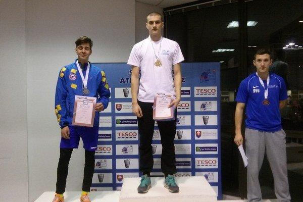 Daniel Turcsányi na najvyššom stupni.