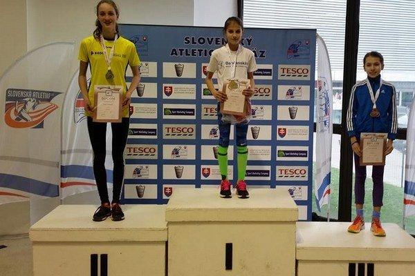 Tamara Ivančová. Šampiónka Slovenska vbehu na 1 000 m.