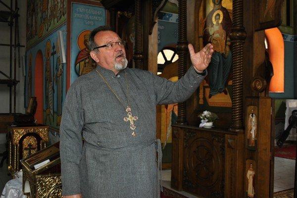Peter Humeník. Dekan asprávca Pravoslávnej cirkevnej obce.