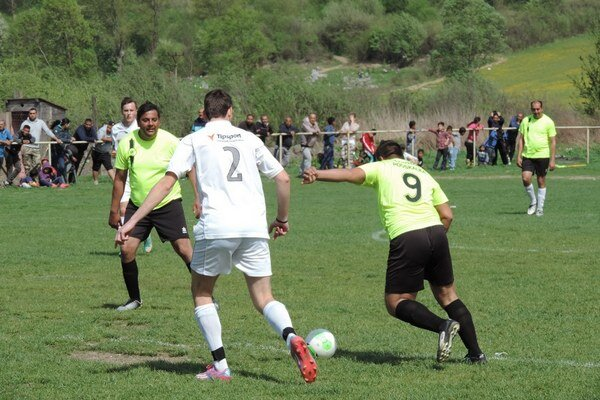 Podskalka-Oľka 8:0 (5:0). Začiatok jarnej časti bol na góly bohatý.