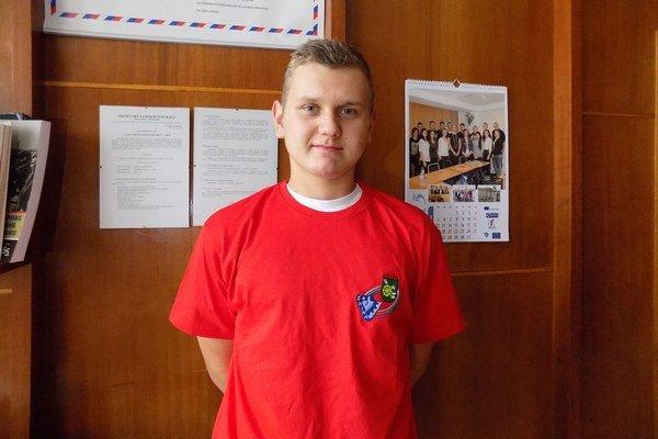 Mladého záchrancu ocenil SČK.
