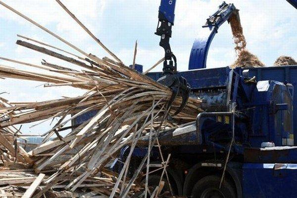 V Humennom plánujú štiepkovať drevnú hmotu.