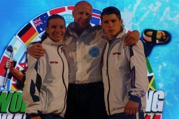 Humenské trio. Dominika Karchová, Rastislav Babinčák a Tibor Hodbod.