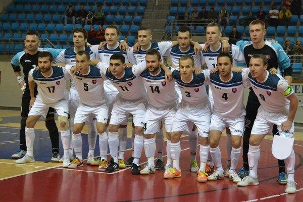 Slovenská futsalová reprezentácia v Humennom.