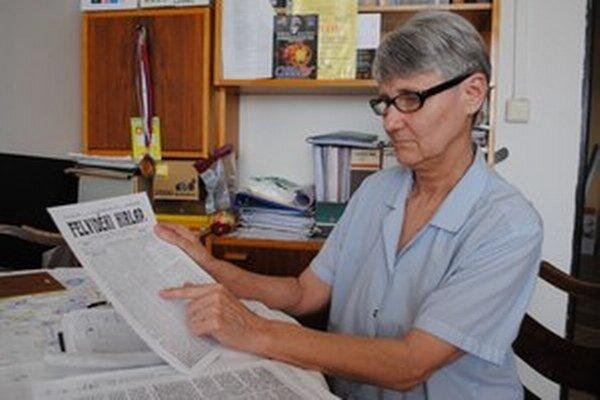 Valéria Csontosová zaujímavé krimi príbehy preložila z maďarčiny.