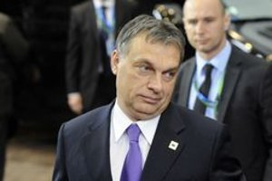 Premiér Orbán.