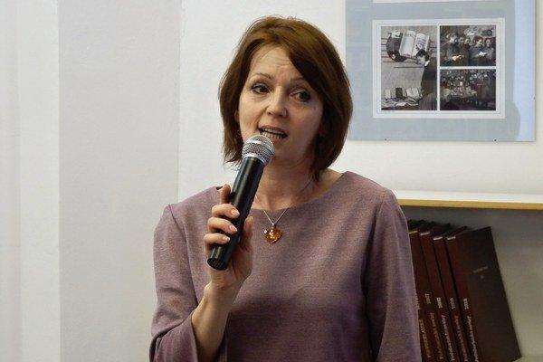 Trénerka pamäti Emília Antolíková.