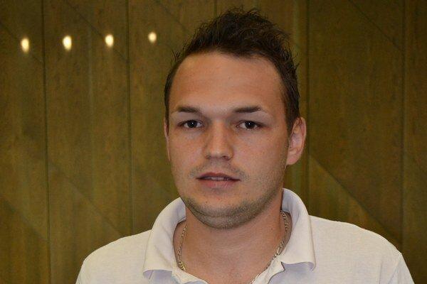 Viktor Melník, hráč Ptičieho - najlepší strelec I. triedy ObFZ Humenné v ročníku 2014/15.