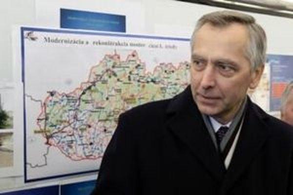 Minister dopravy Ján Figeľ. Foto - TASR