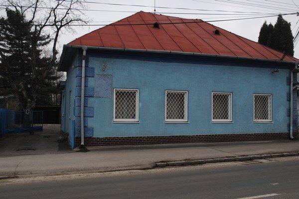 Bývalá budova mestskej polície. Mestu sa ju nedarí predať.