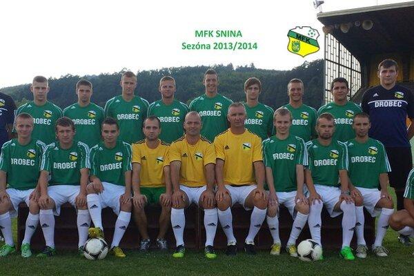 MFK Snina. Cieľom je posun do tretej ligy.