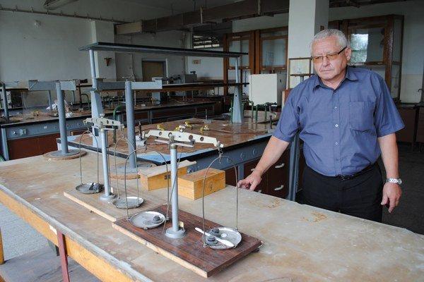 Laboratóriá. Podľa slov riaditeľa Jána Matoša prejdú obnovou.