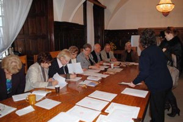 Najromantickejšia volebná miestnosť. Volebný okrsok č. 13 sa nachádza v renesančnom kaštieli.