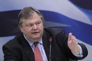 Grécky minister financií  Evangelos Venizelos.