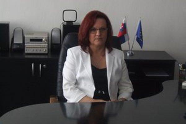 Gabriela Karšková. Do funkcie riaditeľka nastúpila 17. mája.