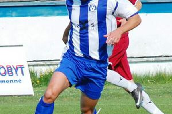 Maroš Bačík bol v uplynulej sezóne najlepším humenským strelcom.