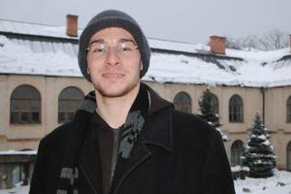Oskar Török. Pochádza z Humenného, študuje v Poľsku.