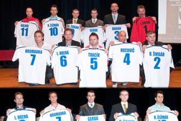 Elitná zostava súťažeJedenástka sezóny 2009/2010.FOTO: JÁN MEŇOŠČÍK