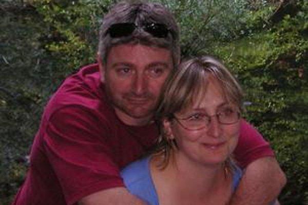 Alenka a Stephan. Výlet na morské oko im učaroval.