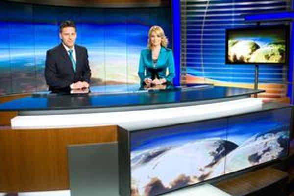 Spravodajské formáty lákajú najmä na tváre moderátorov.