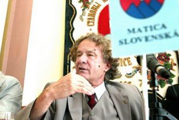 Bývalý šéf Matice Jozef Markuš.
