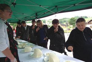 Na Novotskú hrudku prihlásilo syr 11 výrobcov, z toho sedem z Oravy.