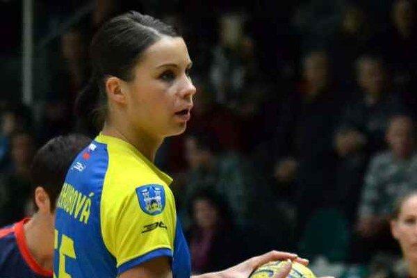 Najlepšia strelkyňa turnaja. Tatiana Trehubová dala v Koprivnici 29 gólov.
