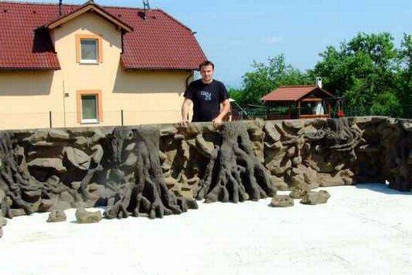 Róbert Mihaľko. Akvaristike sa venuje od detstva.