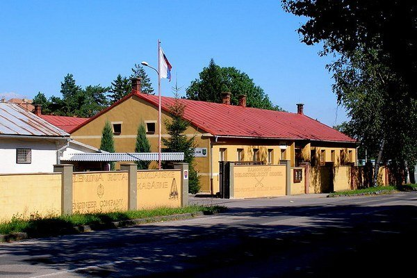 Kasárne v Michalovciach. Budú ich rekonštruovať.