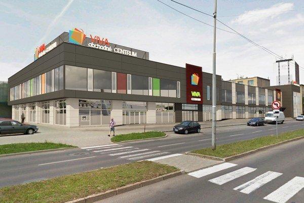 Nové obchodné centrum. Zastrešovať bude viac ako 20 prevádzok.