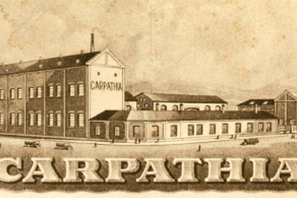 Objekty prievidzského priemyselného podniku Carpathia.
