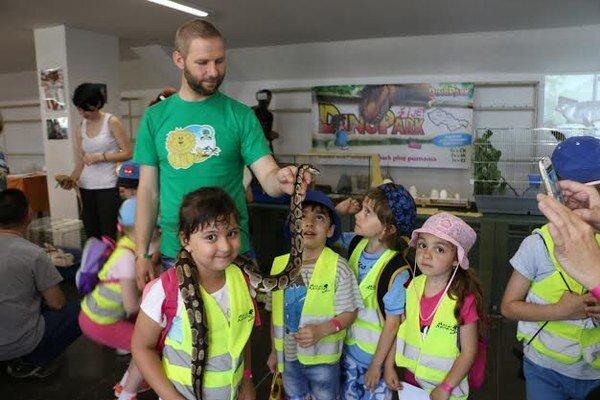 Deti mali zážitkovú oslavu MDD.