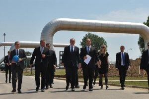 Prezident Andrej Kiska sa stretol svedením Eustreamu. Slovensko zohráva dôležitú úlohu pri preprave zemného plynu.
