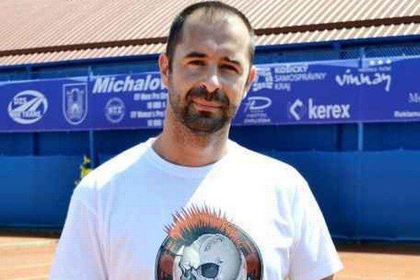 Radovan Sninský. Získal druhé miesto v turnaji.