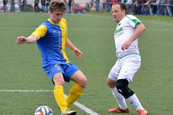 Zemplínske derby. V jari sa v Michalovciach radovalo domáce mužstvo.