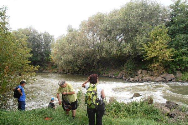 Rieka Laborec. Michalovskí turisti absolvovali nenáročnú túru po prúde rieky od Michaloviec až do obce Lastomír.