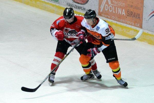 Vyhrali o štyri góly. Raz sa presadil aj Patrik Huňady (vpravo).