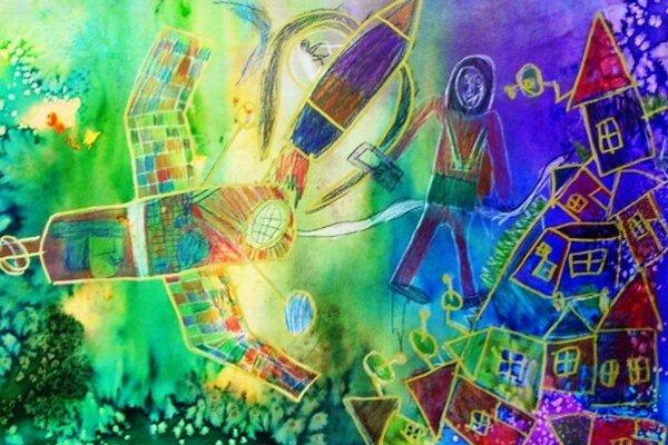 Víťazný obrázok. Do súťaže sa zapojilo vyše 900 základných a umeleckých škôl z 9 krajín strednej a východnej Európy. Vyhral Lukáš Jankovík, žiak Základnej umeleckej školy v Michalovciach.