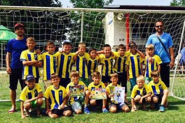Kategória U10. A–tím skončil prvý, B–tím na šiestom mieste.