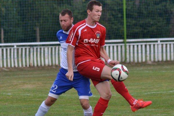 Otváral skóre duelu. Ľubomír Slinčák dal jeden gól, no mohol aj viac.