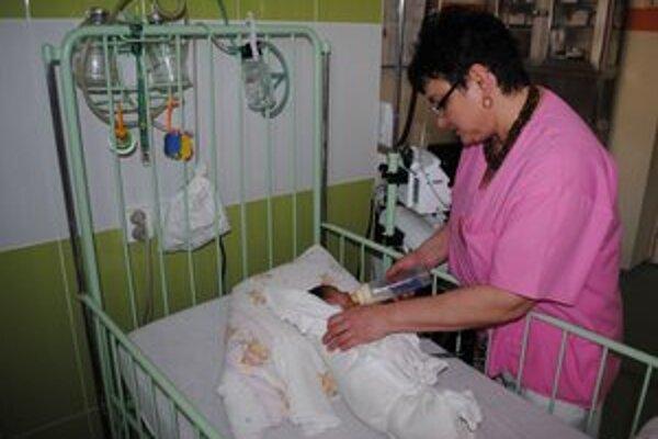 JIS–ka nedávno prešla rekonštrukciou. Lekári a zdravotné sestry sa tu starajú o deti so závažnými zdravotnými komplikáciami.