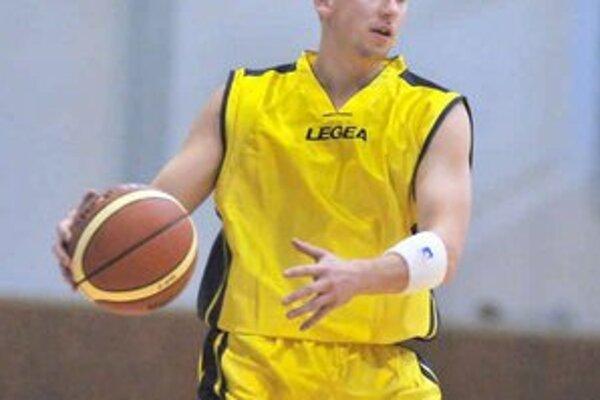 Tomáš Mižák. Patrí medzi opory BK D Michalovce.