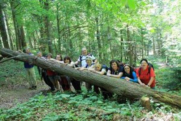 Michalovskí turisti. Tentoraz sa vybrali do severozápadného cípu Národného parku Poloniny.