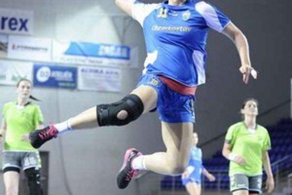 Najlepšia hráčka turnaja. Stala sa ňou Michalovčanka Mária Olšovská.