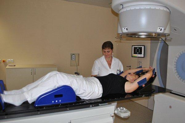 Onkológia. Ročne pribudne v regióne Zemplína približne 50 onkologických pacientov.