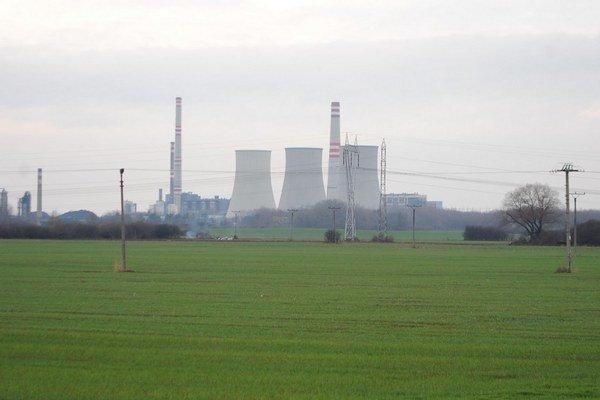 Elektráreň Vojany. Stovky miest zatiaľ ohrozené nie sú.