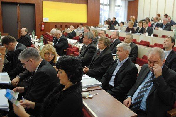 Mestskí poslanci schválili rozpočet na rok 2014.