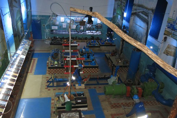 Vodárenské múzeum v Michalovciach. Mapuje kolobeh vody, jej cestu a úpravu od prameňa až k zákazníkovi.