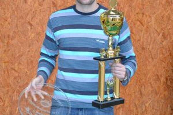 Ján Brutovský. Najlepší nohejbalista za rok 2011.