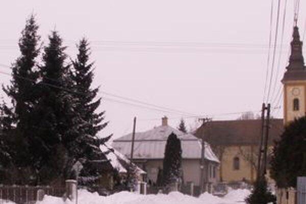Veľký Horeš. Dedina bola odrezaná od sveta ešte popoludní.